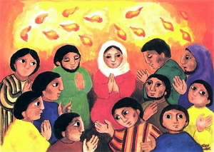 """Résultat de recherche d'images pour """"Pentecôte et enfants"""""""