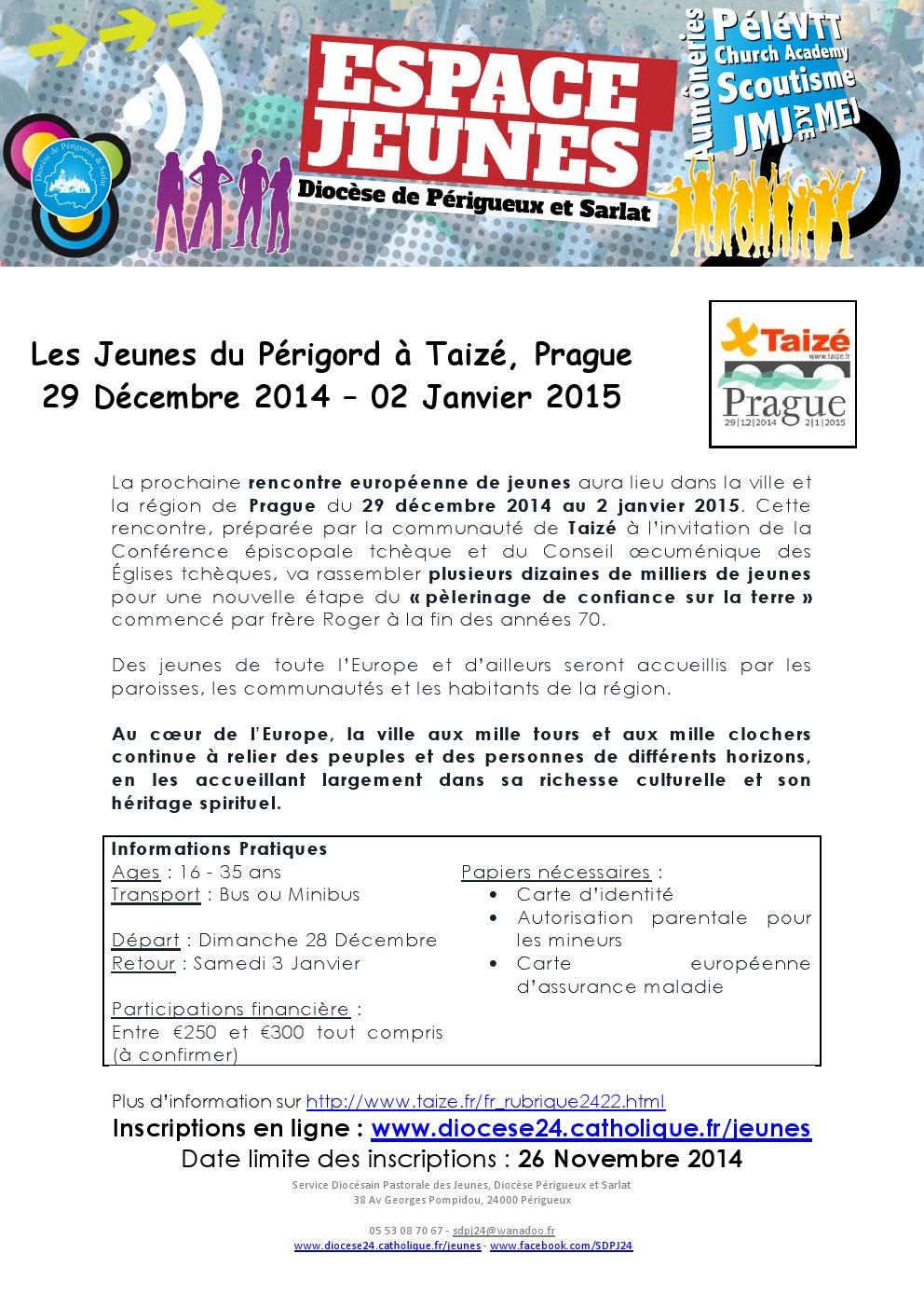 rencontre européenne de taizé 2014